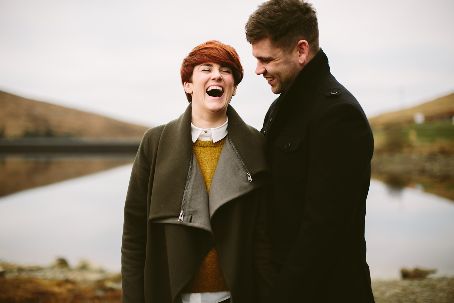 Mourne Mountains Engagement shoot Northern Ireland