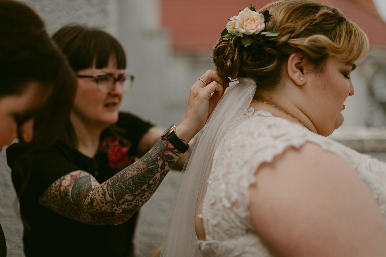 whiterocks elopement // antrim coast | adam & grace wedding